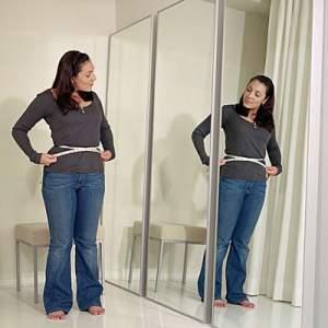 afvallen spiegel