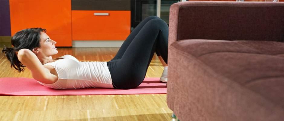 Voedingstip de 5 makkelijkste oefeningen voor thuis - Voor thuis ...