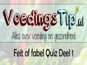 Feit of fabel Quiz deel 1