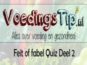 Feit of fabel Quiz deel 2